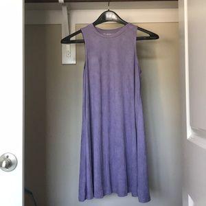 Purple, Velvet Dress